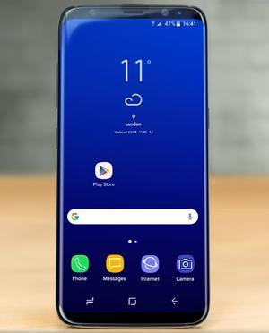 Le Samsung Galaxy S8 et son grand écran.