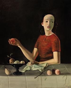 André Derain, «Geneviève à la pomme», 1937-1938.