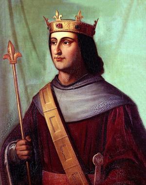 Philippe VI de Valois, roi de France de 1328 à 1350.