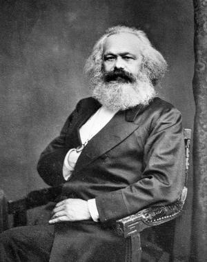 Karl Marx en 1875.