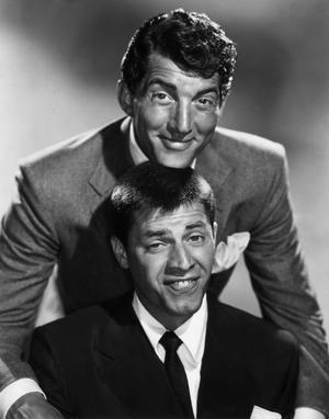 Dean Martin et Jerry Lewis en 1955.