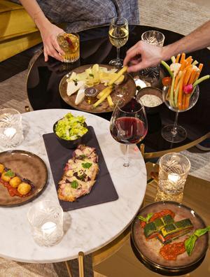 Les Passerelles, le restaurant de l'hôtel Parister (IXe).