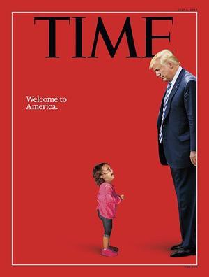 La photo de Yanela Varela s'est retrouvée en couverture du «Time».