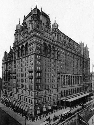 L'Hôtel Waldorf-Astoria en 1904.