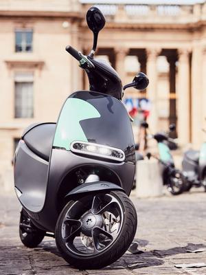 Un design innovant caractérise le scooter électrique Gogoro mis en œuvre par COUP.