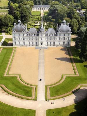 Le château deCheverny(41).