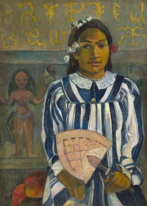 Paul Gauguin, «Merahi metua no Tehamana» (Les aïeux de Teha'amana), 1893