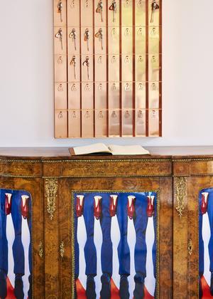 Dans le sud de la France, à Château LaCoste, l'art est partout, dèsla réception.