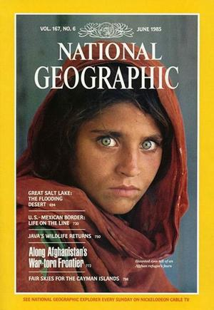 Le portrait de Sharlat Gula est resté gravé dans les mémoires après avoir fait la une de <i>National Geographic</i>.