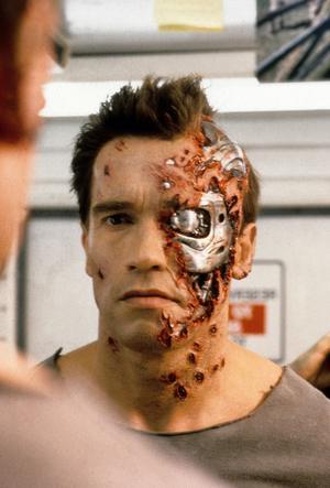 Arnold Schwarzenegger dans «Terminator 2».
