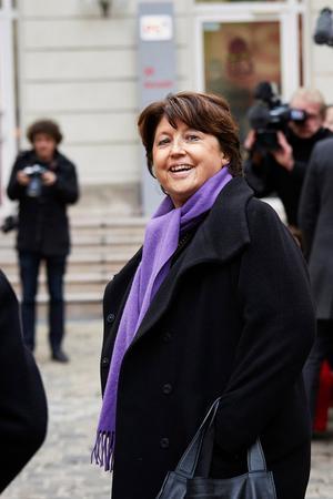 La charge au vitriol de Martine Aubry contre la réforme «extrêmement dangereuse» du gouvernement a fait mouche à gauche.