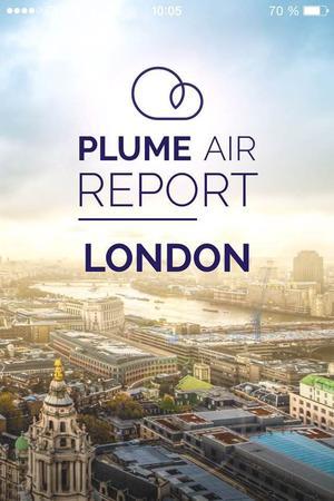 Plume Air Report est une application de smartphone gratuite pour mesurer le taux de pollution d'un lieu.