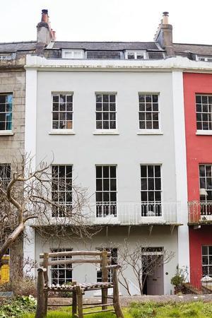 Le domicile de Martin Parr à Bristol (Vincent Gapaillard pour Almaviva)