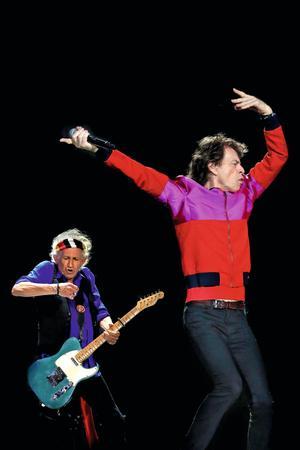 Mick Jagger et Keith Richards ont toujours le feu sacré.