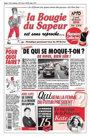 Le numéro 10 de la Bougie du Sapeur contiendra un supplément sur l'historique du journal.