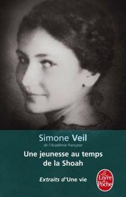 Simone Veil, «Une jeunesse au temps de la Shoah», extraits d' «Une vie». Crédit photo: Livre de poche