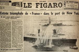 Article paru dans «Le Figaro» du 9 février 1962.