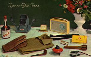 Briquets, chopes et cannes à pêche : les cadeaux vedettes de la fête des pères 1965