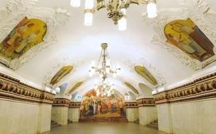 10 stations de métro russes aux allures de palais