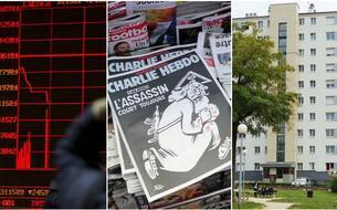 Bourses chinoises, <i>Charlie Hebdo</i>, logement social: le récap éco du jour