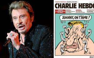 Johnny Hallyday, la tête de turc préférée de <i>Charlie Hebdo</i>