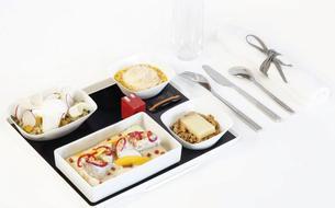 Jean Imbert signe un menu pour Air France