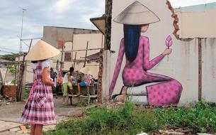 Du Cambodge à La Réunion, le street art parcourt le monde