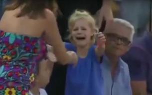 Rafael Nadal interrompt son match pour retrouver une petite fille perdue