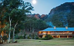 En Australie, un hôtel 100% nature au cœur des Blue Mountains