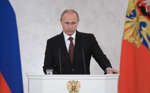 Vladimir Poutine n'est pas «Charlie»