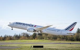 A bord du nouveau Boeing 787 d'Air France