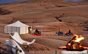L'aventure marocaine en side-car
