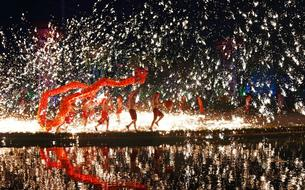 Dans le monde entier, les Chinois célèbrent l'année du Coq de feu
