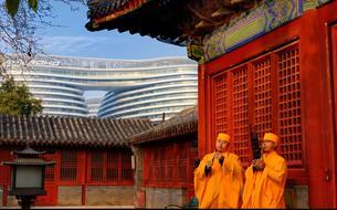 Le nouveau Pékin, tout en arts
