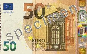 Le billet de 50 euros fait peau neuve