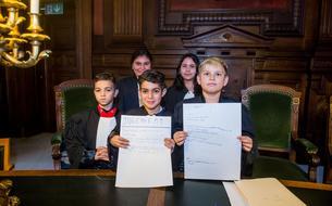 Les enfants des quartiers difficiles de Bruxelles, médecins ou juges d'un jour