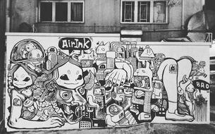 Quand la pollution des voitures fournit aux artistes leur encre