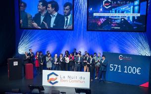 À La Nuit du bien commun, 600.000 euros donnés au profit de 15 associations