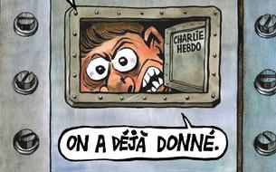 Trois ans après l'attentat, <i>Charlie Hebdo </i>dénonce le «coût» de la liberté d'expression