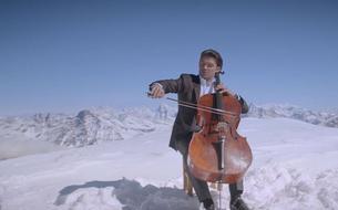 Gautier Capuçon prend de l'altitude pour son clip <i>Le Cygne</i> de Saint-Saëns