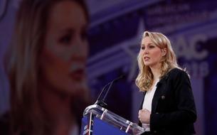 Marion Maréchal-Le Pen en vedette américaine à Washington