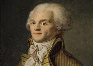 Maximilien de Robespierre, peinture du XVIIIe siècle, école française (Musée Carnavalet, Paris).