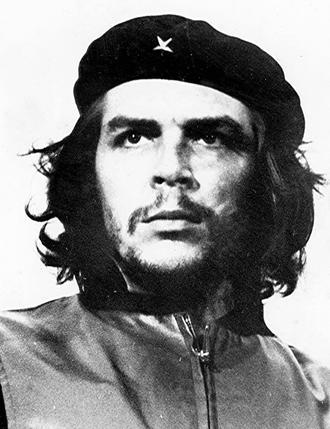 Le portrait le plus connu d'Ernesto «Che» Guevara.