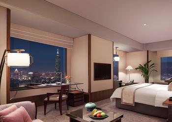 Le Shangri-La's Far Eastern Plaza, l'hôtel le plus haut de Tapei.