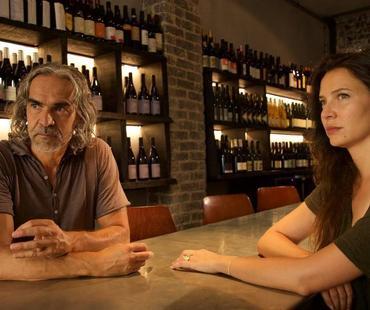 Vincent Roger (créateur du Théâtre à Table!) et la comédienne Gena Bordi.