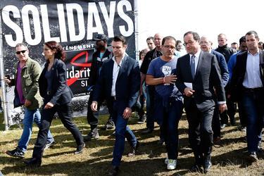 L'ancien président de la république François Hollande s'était rendu à l'édition 2014 du festival.