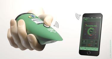 NeOse, le nez virtuel développé par Aryballe Technologies.