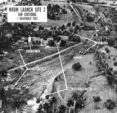 Les rampes de lancement soviétiques. Crédits Photo: Wikipedia