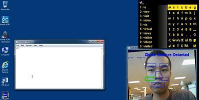 L'interface ACAT qui permettait à Stephan Hawking d'écrire depuis 2013.