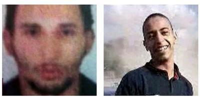 À gauche, Abdelkader Merah. À droite Mohamed, le plus jeune.
